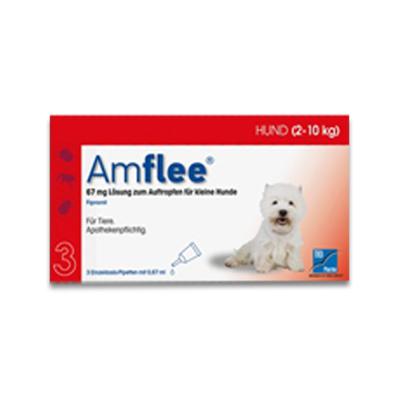 Amflee Spot-on Hund (2-10kg) - 3 Pipetten