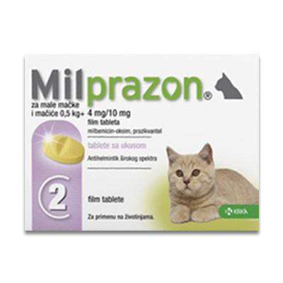 Milprazon Kleine Kat (4 Mg) - 2 Tabletten | Petcure.nl
