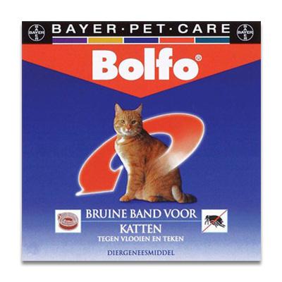 Bolfo Floeheband Braun - Katze - 1 st