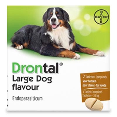 Drontal Tasty Grosse Hund - 2 Tabletten