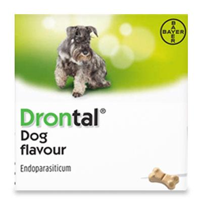 Drontal Dog Tasty tot 10 kg - 2 Tabletten | Petcure.nl