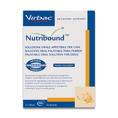 Virbac Nutribound Dog - 3 X 150 ml