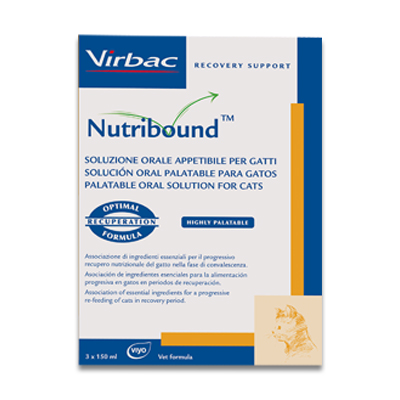 Virbac Nutribound Cat - 3 X 150ml