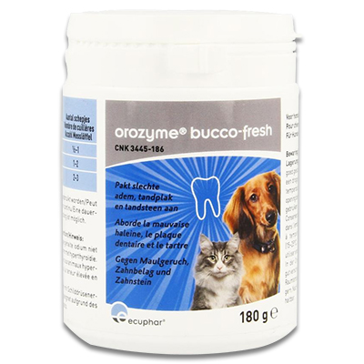 Orozyme Bucco Fresh Plaque Off - 180 g