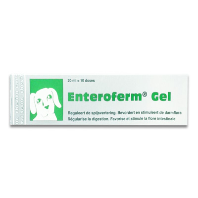 Enteroferm Gel Hond & Kat - 20 ml | Petcure.nl