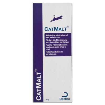 Dechra Catmalt (Haarballen Paste) - 50 ml