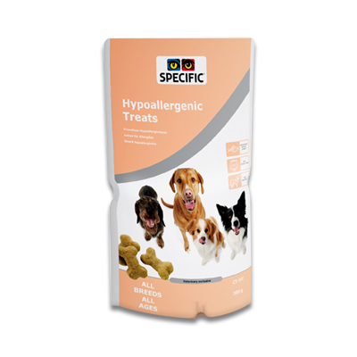 SPECIFIC CT-HY Hypoallergenic Treats - 1 x 300g | Petcure.nl