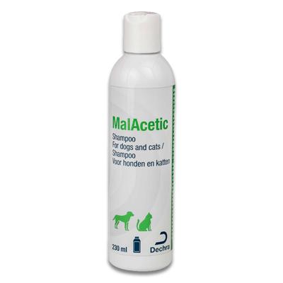 MalAcetic Shampoo (Hond/Kat) - 230ml