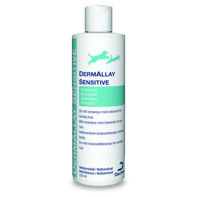 DermAllay Sensitive Shampoo - 230 ml (MHD 09-19)