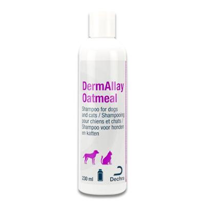 DermAllay Oatmeal Shampoo - 230 ml | Petcure.nl