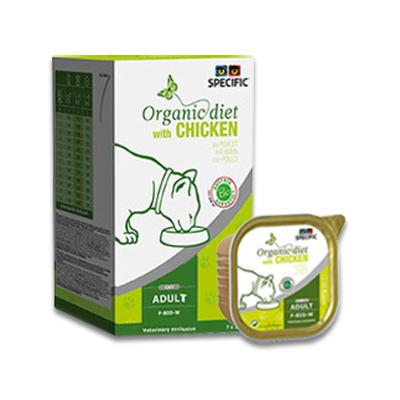 SPECIFIC F-BIO-W Organic (Chicken) - 7 x 100 g