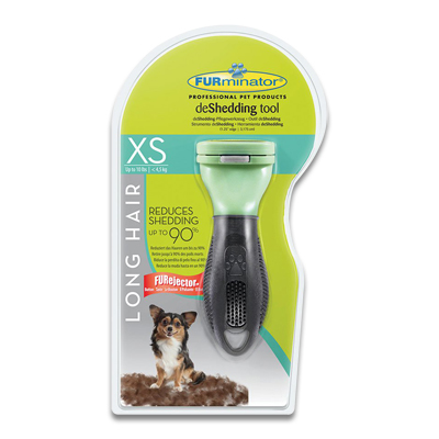 FURminator Langharige Hond (tot 4.5kg) - XSmall | Petcure.nl