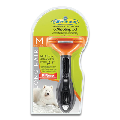 FURminator Langhaarige Hunde (9-23kg) - Medium
