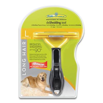 FURminator Langharige Hond (23-41kg) - Large | Petcure.nl