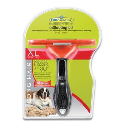 FURminator Langhaarige Hunde (+ 40kg) - XLarge