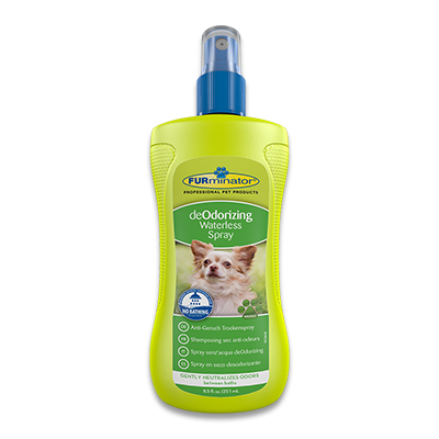 FURminator deOdorizing Waterless Spray - 250ml | Petcure.nl