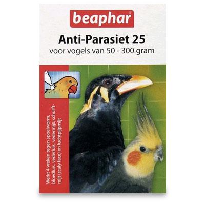 Beaphar Anti Parasiet 25 Voegel 50-300g