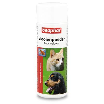 Beaphar FloehePulver - Hund/Katze - 80 gr