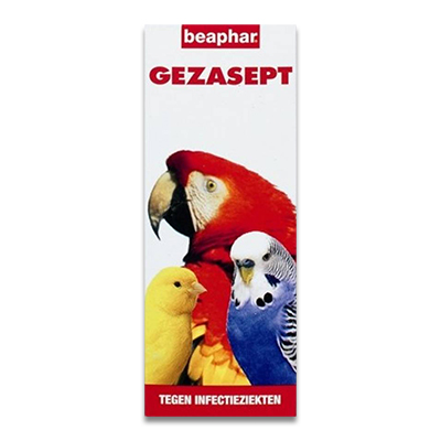 Beaphar Gezasept (infectieziekten) vogel  50ml | Petcure.nl