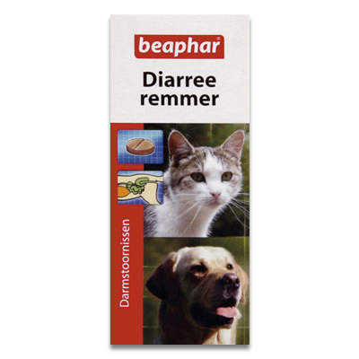 Beaphar Diarreeremmer (Durchfall Stopfend) Hund/Katze - 20 Tab.