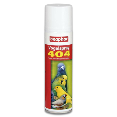 Beaphar 404 Vogelspray 250ml | Petcure.nl