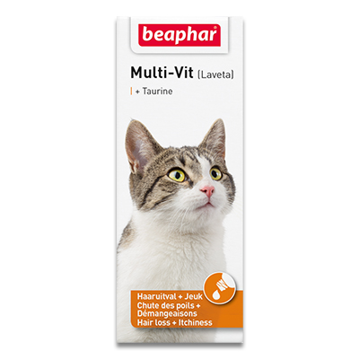 Beaphar Multi-Vit Katze mit Taurin - 50 ml