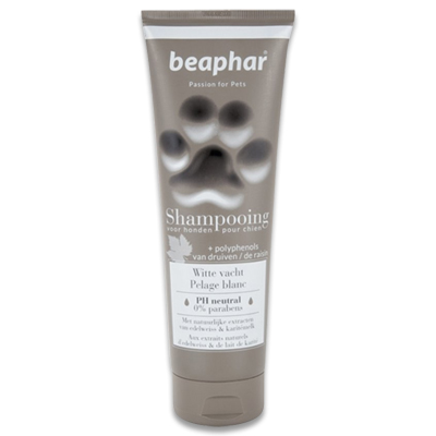 Beaphar Shampooing tube Witte vacht (Wineterweiss)