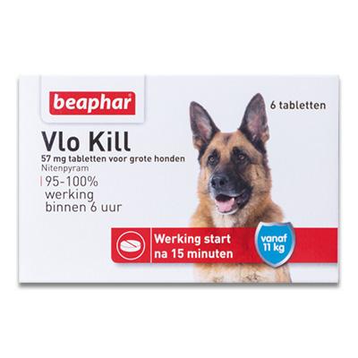 Beaphar Vlo Kill+ - Hund (> 11 kg) - 6 Stuecke