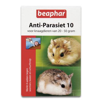 Beaphar Anti Parasit 10 Kleinsaeuger - 20 bis 50 g