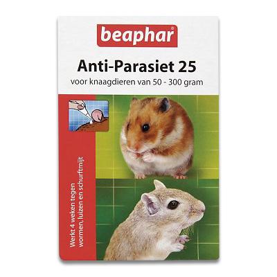 Beaphar Anti Parasit 25 Kleinsaeuger 50-300g