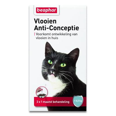 Beaphar Flohschutz- Katze L (4,5-9 kg) - 3 Stuecke