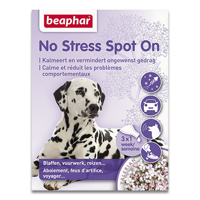 Beaphar No Stress Spot On (Hond) - 3 Pipetten | Petcure.nl