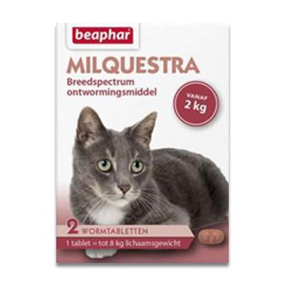 Beaphar Milquestra Grosse Katze (2 - 8kg) - 4 Tabletten