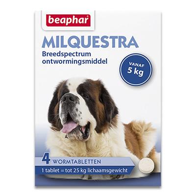 Beaphar Milquestra Grosser Hund (5 -25kg)  - 4 Tabletten