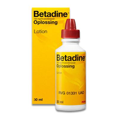 Betadine Jodium Oplossing - 30 ml | Petcure.nl