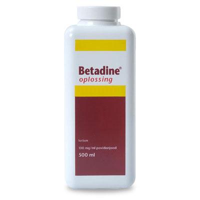 Betadine Jodium Oplossing - 500 ml | Petcure.nl
