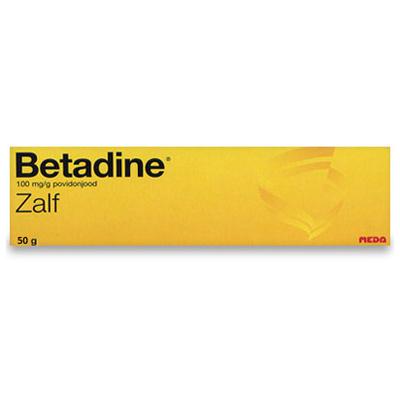 Betadine (Povidon-Iod) Salbe - 50g
