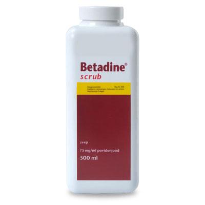 Betadine Scrub - 500 ml | Petcure.nl