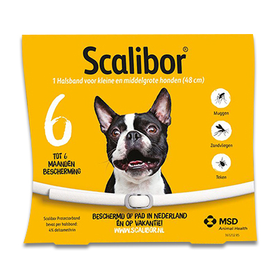 Scalibor Protectorband - Small/Medium - 48 cm | Petcure.nl