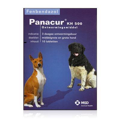 Panacur - KH 500 mg - 10 Comprimés