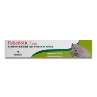 Flubenol KH Ontwormingspasta  - 7.8 ml | Petcure.nl