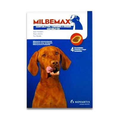 Milbemax Hond Kauwtabletten vanaf 5 kg - 4 Tabletten | Petcure.nl