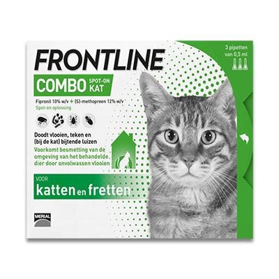 Frontline Combo Katze - 3 Pipetten