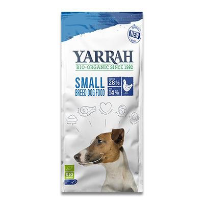 Yarrah Bio Trockenfutter für Kleine Rassen (Huhn) - 2 Kg