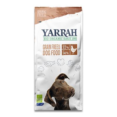 Yarrah Adult Dog Getreidefreies Hühnchen/Fisch - 10 Kg