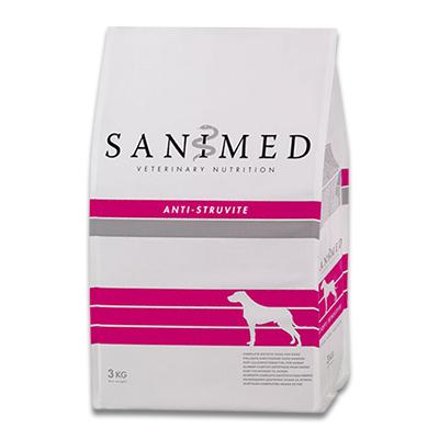 SANIMED Anti Struvite Hond - 3 kg | Petcure.nl