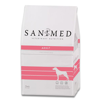 SANIMED Adult Hond Small Breed - 3 kg | Petcure.nl