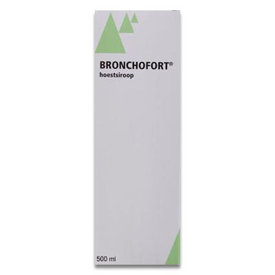 Bronchofort Hoestsiroop (Hustsirup) - 500 ml
