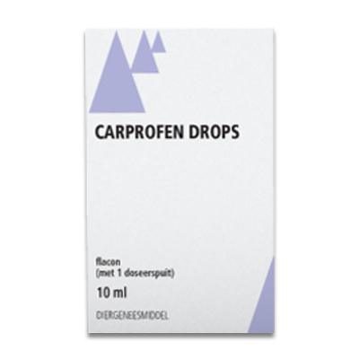 Carprofen Drops - 10 ml | Petcure.nl