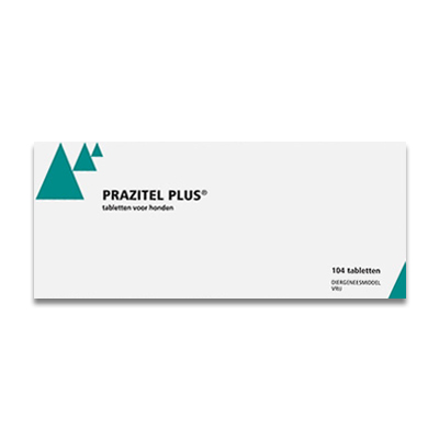 Prazitel Plus Ontworming Hond - 13 x 8 Tabletten | Petcure.nl